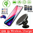 10W Qi Wireless Car Fast Charger Phone Holder For Phone X Xs Max S9+ Note 9 AU