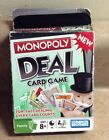 MONOPOLY Deal Card Game by Hasbro - Fast Dealing Family Monopoy Card Game NOS