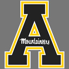 Appalachian State Mountaineers NCAA Football Vinyl Sticker Car Truck Decal Yeti