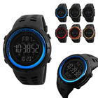 SKMEI Mens Sports Watches Digital Wrist Watch Waterproof Stopwatch image