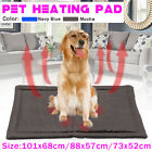 Self Heating Pet Dog Large Mat Bed Pad Warm Cat Thermal Washable Cushion Blanket