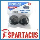 Pack of 2 Spartacus Blue Strimmer Spool & Single 1.5mm x 7m Line for Many Brands