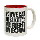 Funny Mugs You've Cat To Be Kitten Me Right Now Birthday NOVELTY MUG