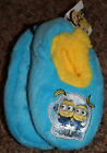 NEW toddler boy DESPICALBE ME 3 girl MINIONS sherpa lined SLIPPER SOCKS sz 2T-3T