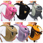 Emmzoe Toddler 3D Animal Backpack with Detachable Safety Harness Leash