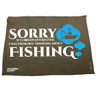 Fishing Funny Microfiber Hand Towel - Sorry If I Looked Interested