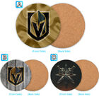 Vegas Golden Knights Wood Coaster Coffee Cup Mat Mug Pad Table Decor $4.69 USD on eBay