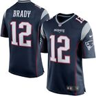NWT MENS New England Payriots Brady 12 Fully Stitched XL size In Stock