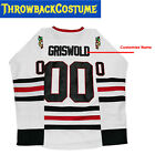 Clark Griswold 00 X Mas Christmas Vacation Movie Hockey Jersey Stitched Men Ice