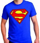 CLASSIC SUPERMAN  LOGO T-SHIRT COLOR ROYAL BLUE  image