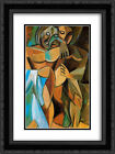 Pablo Picasso 2x Matted 20x24 Framed Art Print 'Friendship'
