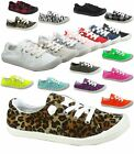 Women's Cute Comfort Slip On Flat Heel Round Toe Sneaker Shoes Various Size NEW