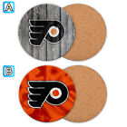 Philadelphia Flyers Wood Coaster Coffee Cup Mat Mug Pad Table Decor $4.69 USD on eBay