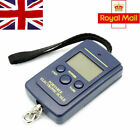 Digital Weighing Scale Pocket Balance Lcd 40Kg Luggage Fishing Hanging Suitcase
