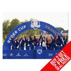 TEAM EUROPE RYDER CUP 2018 GOLF POSTER A4 A3 SIZE PRINT - BUY 2 GET ANY 2 FREE