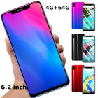 Android 8.1 Octa Core Dual Sim Ram 4gb Rom 64gb 6.2'' Hd Smart Mobile Phone X21