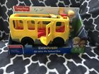 Fisher-Price Little People Sit With Me School Bus Lights Sounds Ages 1-5 NEW BOX