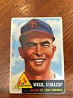 1953 Topps #180 Virgil Stallcup, St. Louis Cardinals