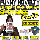 Funny Giant 2 Litre Mug Cup Coffee Tea - SUPER BE7