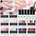 UR SUGAR Soak Off Gel Nail Polish UV LED Need Top Base 6 Colors Set 15ML