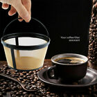2 Pack Mr. Coffee GTF2-1 Basket-Style Gold Tone Permanent Filter 8 - 12 cup