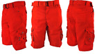 Men's Belted Cargo Shorts Brand New Multi-Pocket Size 32 34 36 38 40 42 Active