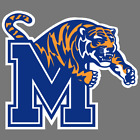 Memphis Tigers NCAA Football Vinyl Sticker Car Truck Window Decal Laptop