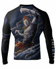 Raven Fightwear Men's Shiva The Destroyer MMA BJJ Rash Guard