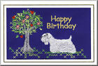 Sealyham Terrier Birthday Card Embroidered by Dogmania - FREE PERSONALISATION