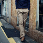 Mens Casual Business Suit Long Pants Slim Fit Classic Formal Straight Trousers