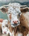 Cow Art PRINT Wall Art from original oil painting by James Coates 825