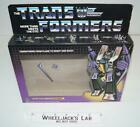Skywarp Box Only 1984 TM Action Figure Vintage Hasbro G1 Transformers