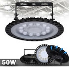 50W UFO LED High/Low Bay Light Gym Factory Warehouse Industrial Shed Lighting