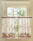 Themed Tier Pairs or Valances Revamp Any Room Printed Design Sentimental Phrase