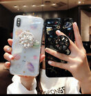 Planet Bling Giltter Diamond Airbag Kickstand Case Cover for Samsung S10+ S10e