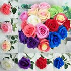 Artificial Flower Bouquet Rose Real Touch Bridal Wedding Supply Home Party Decor