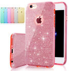 3in1 Layers Bling Glitter Slim Shockproof Soft Gel Case Cover For Apple iPhone