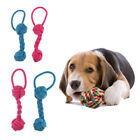 2pcs Puppy Chew Cotton Rope Knots Toys Dog Teeth Care Long Life Service