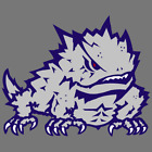 TCU Horned Frogs NCAA Football Vinyl Sticker Car Truck Window Decal Laptop Yeti