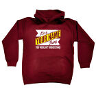 Funny Kids Childrens Hoodie Hoody - V2 Your Name Thing Surname