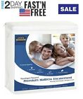 Utopia Waterproof Bedding Encasement Cover Zippered Mattress Protector Bed Bug  image