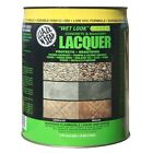 5 gal. Clear Wet Look Green Concrete and Masonry Lacquer Sealer - Glaze 'N Seal