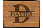 Funny Doormat Novelty Door Mat Birthday Home Office - INITIAL-DAVIES