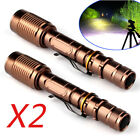 Tactical Police 300000LM 5-Mode T6 LED 18650 Flashlight Zoomable Outdoor Torch