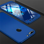 360° Full Cover Case + Tempered Glass For Huawei Honor Play 7A 8X 8 9 10 Lite