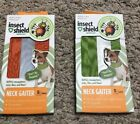 New NIB Insect Shield Bug Repellent Gear Dog Neck Gaiter Small Medium Large