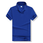 100% Cotton Mens Polo T-Shirts Summer Casual Short Sleeve Shirt M~3XL 8 Colors