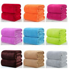 Flannel Coral Warm Solid Blanket Fleece Bedding Sheet Soft Throw Plush Rug  image