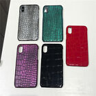 Shockproof Snake Skin PC Hard Cover Case For Phone XS XR XS Max 8 7 6S 6 Plus-Z