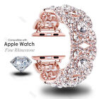 Women's Strap For Apple Watch Rhinestone Diamond Watch Band 38 42 40 44MM Band image